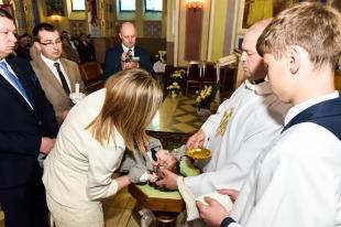 Uroczystość Chrztu Świętego Kacperka 26.04.2015 r.