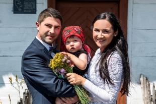 Plener ślubny Darii i Piotra i Lilianny