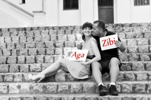 Sesja Narzeczenska Aga i Zibi