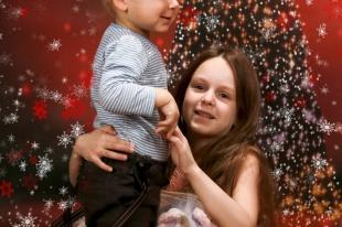 Sesja Świąteczna Hani i Szymonka
