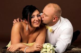 Zdjęcia studyjne ze ślubu i chrztu