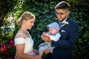 Ślub Karoliny i Oskara Chrzest Emila