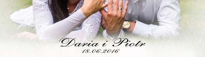 Ślub Wesele Darii i Piotra i Chrzest Lilianny Fotografia Ślubna Weselna Plenerowa Okolicznościowa Piotr Przekwas